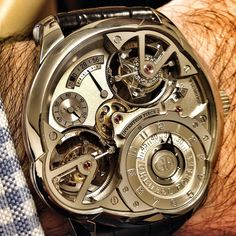 How about 2 tourbillons on this Greubel Forsey Invention Piece 2!