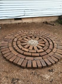 Since CE (creative endeavors) has been relocated outdoors for the summer, I decided to post about a DIY brick patio. You can do this as a w...