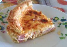 Αλμυρή τάρτα με σφολιάτα Cookbook Recipes, Cooking Recipes, Cheesecake Tarts, Greek Beauty, Cheesecakes, Quiche, French Toast, Pie, Breakfast