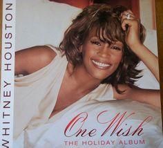 "Whitney Houston / One Wish / 2003 Double-Sided Promo Poster / 12"" X 12"" / RARE"