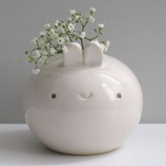 Bunny vase >> Just wonderful!