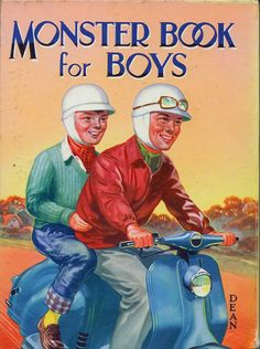 Scooters on Boys Annual | Flickr - Photo Sharing!