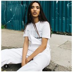 #White #WorkWear #VickyGrout #StreetCasuals #CasualGirls #GirlGang #ThisisWelcome