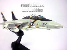 Grumman F-14 Tomcat - VF-84 - Jolly Rogers - 1977 USS Nimitz - 1/72 Scale Diecast Model by Hobby Master