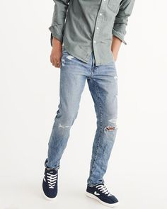 Ripped Skinny Jeans #affiliate