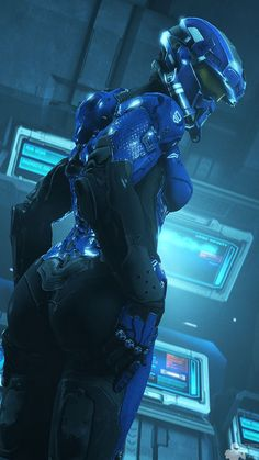 Explore the SciFi - General collection - the favourite images chosen by barbarossarotbart on DeviantArt. Thicc Anime, Art Anime, Halo Cosplay, Halo Armor, Halo Spartan Armor, Halo Series, Arte Sci Fi, Halo Game, Anne Stokes