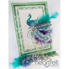 Gallery | Beautiful Day Peacock - Heartfelt Creations