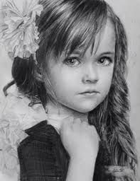 Image result for Pencil sketches of children