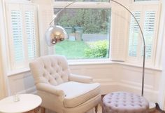 High quality Cafe Style Shutters fitted in Hampshire by Shuttersouth, Southampton. All shutters made to measure with a free home survey. Arched Windows, Big Windows, Blinds For Windows, Bay Window Shutters, Wooden Shutters, Cafe Style Shutters, Sheer Blinds, Bathroom Blinds, House Blinds