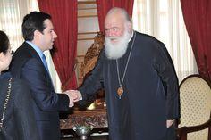 Συνάντηση με τον Μακαριώτατο Αρχιεπίσκοπο Αθηνών και Πάσης Ελλάδος, κ. κ. Ιερώνυμο (06/04/2012)