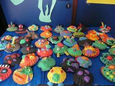 diep in de zee Beach Activities, Activities For Kids, Art For Kids, Diy And Crafts, Flora, Birthdays, Atlantis, Ocean, Art