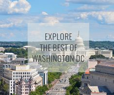 Explore America's capital and see how inspiring history and heritage can be. Explore the best of Washington DC.