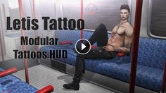 Letis Tattoo Modular Tattoos HUD in Second Life Full style details with links and SLurls on my blog:https://strawberrysingh.com/2017/06/2...~ CONNECT ...