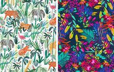 jungle pattern - Google Search