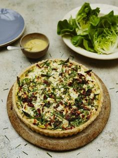 The ultimate spring quiche | Jamie Oliver