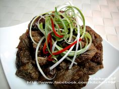 「醬燒牛肉」電鍋版食譜、作法 | 18食堂的多多開伙食譜分享