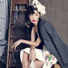 awesome Korean actress Jeon Ji-hyun by Hong Jang-hyun for @voguekorea September 2013  #h...  Korean actress Jeon Ji-hyun by Hong Jang-hyun for @voguekorea September 2013  #hatdesign #hat #hats #headpiece #headwear #elegence #fashion #art #lu...