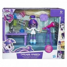 My Little Pony Equestria Girls Minis - Twilight Sparkles Science Star Class Set (B9483Eu40)