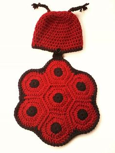 Cozy Creatures Newborn Ladybug Turtle or by StickACorkInIt on Etsy, $30.00