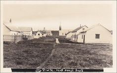 RP: Street view toward Catholic Church , FORT GOOD HOPE , NWT , Canada , 10-20s Item# SCVIEW358575 (253559238)