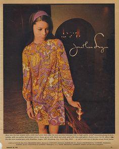 60s Fashion Trends, 60s And 70s Fashion, Mod Fashion, Vintage Fashion, Vintage Style, 1960s Dresses, Seventeen Magazine, Fashion Project, Everyday Fashion