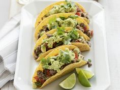 Rindertacos mit guacamole