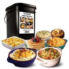 Buy Ready Hour 2-Week Survival Food Kit survival food kits at diehardprepper.com! Free shipping to 185 countries. 45 days money back guarantee. Emergency Food Kits, Survival Food Kits, Emergency Food Storage, Emergency Water, Emergency Preparedness, Homestyle Potatoes, Chicken Flavored Rice, 500 Calories A Day, Savory Rice