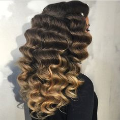 STYLIST FEATURE  Love this #vintagehair done by #BrooklynStylist @HairSalonM These waves would be perfect for a wedding GORG #VoiceOfHair