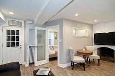 Extraordinary Tips for Designing Basement Apartment with breathtaking image: Mesmerizing Basement Apartment Design As Amazing Decor ~ 2-quick.com Apartment Inspiration