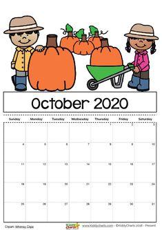 October 2020 Calendar: Print October 2020 Calendar Blank Template – PDF, Word, Excel, October 2020 Calendar Wallpaper for Desktop and iPhone