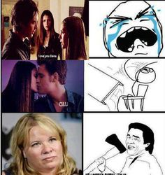 Seriously tho. Why Julie Plec??