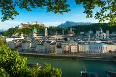 What to see, eat and do in Salzburg, Austria Panorama City, European City Breaks, Clear Lake, Central Europe, World Heritage Sites, Old Town, Beautiful Places, Hotels, Around The Worlds
