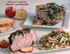 Bibimoni Receptjei: Szilveszteri ételek Meat Recipes, Baked Potato, Camembert Cheese, Pork, Potatoes, Beef, Baking, Ethnic Recipes, Kale Stir Fry