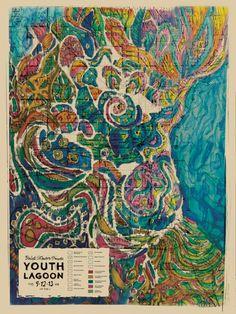 Youth Lagoon Tour Poster