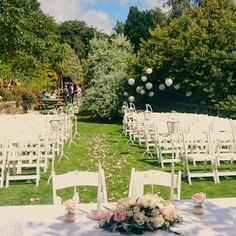 Summer Garden Ceremony at the Glenview Hotel Real Weddings, Outdoor Weddings, Summer Garden, Wedding Styles, Dolores Park, Table Decorations, Travel, Viajes, Destinations