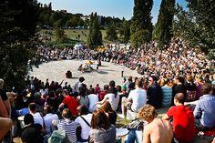 berlim mauerpark live street music