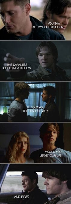 4x10 Heaven and Hell, 4x22 Lucifer Rising, 1x01 Pilot, 1x13 Route 666 ...and they did.