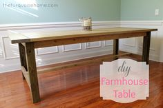 This is beautiful! would love to have such a clean table in my kitchen...