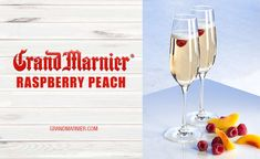 Brunch with Grand Marnier® Raspberry Peach - Champagne