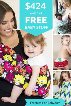 Get $424 worth of FREE Baby Products. These make great baby shower gifts! Go Here => http://freebies-for-baby.com/4571/424-worth-free-baby-stuff/ #BabyShowerGifts #BabyGifts #BabyShowerIdeas