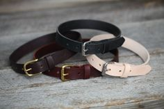Leather Baby Belt.  Baby, Toddler, and Kids Belts.  Your choice of Four Leathers.