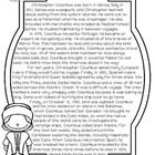 This Christopher Columbus passage is one of 7 included in the Explorers Pack found in my store.  I use it for interactive notetaking in my class (a...