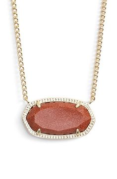 275d73bcd Kendra Scott 'Dylan' Stone Pendant Necklace available at #Nordstrom - I  like the
