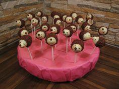 Hedgehog Cake Pops