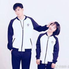 Drama and movie Tall Boy Short Girl, Tall Boys, Short Girls, A Love So Beautiful, Cute Love, Cute Couple Art, Cute Couples, Live Action, Kdrama