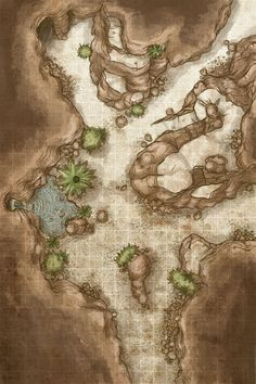 RPG maps, meant to be used in roleplaying games such as Dungeons & Dragons or Pathfinder. Usually with grid, but not always.