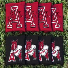 Arkansas Razorbacks Vintage Cornhole Kernel-Filled Bag Set - $31.99