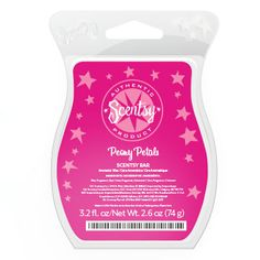 New Scentsy Romance fragrance – Peony Petals: Peony and rose petals dance on a soft breeze.