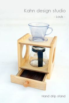 pour over coffee stand/ Hand drip coffee station