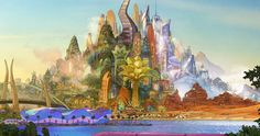 Check out the new Zootopia concept art revealing the animal city; the new Walt Disney Animation Studios film is due in theaters on March Zootopia Concept Art, Zootopia Art, Disney Concept Art, Zootopia Characters, Zootopia 2016, Art Disney, Disney Kunst, Disney Movies, Kid Movies